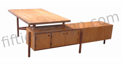 PIERRE JEANNERET WRITING TABLE FOR JUNIOR OFFICERS