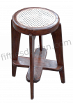 PIERRE JEANNERET BAR HOCKER