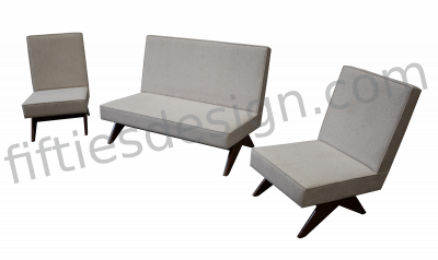 PIERRE JEANNERET SOFA SET