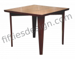 PIERRE JEANNERET SQUARE TABLE