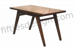 PIERRE JEANNERET DINING TABLE FOR HIMALAYAN MESS HOSTEL